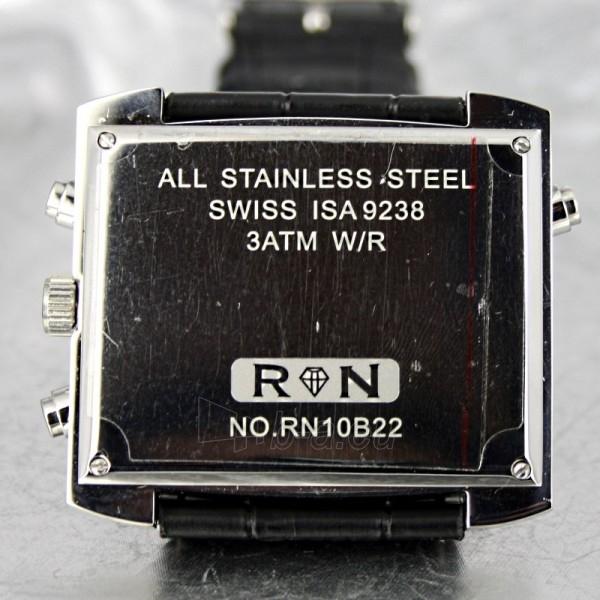 Moteriškas laikrodis RUBICON RN10B22 LS WH BK Paveikslėlis 7 iš 8 30069508411