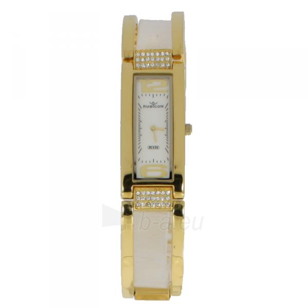 Moteriškas laikrodis RUBICON RN10B36 LG WH Paveikslėlis 1 iš 5 310820139633