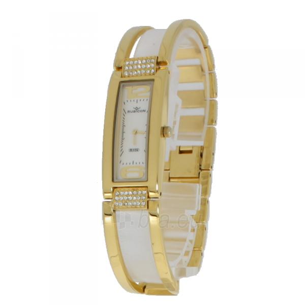 Moteriškas laikrodis RUBICON RN10B36 LG WH Paveikslėlis 5 iš 5 310820139633