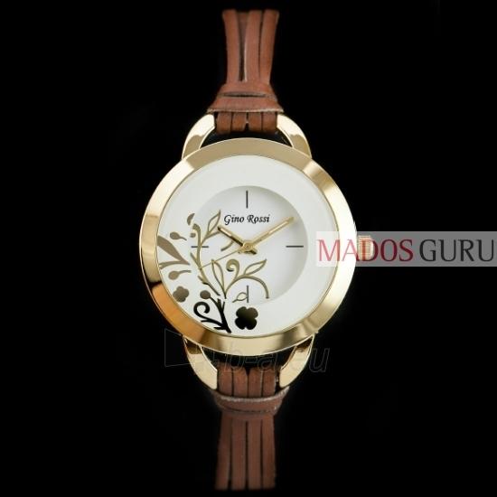 Moteriškas laikrodis Stilingas Gino Rossi GR8974RG Paveikslėlis 1 iš 4 30069500987