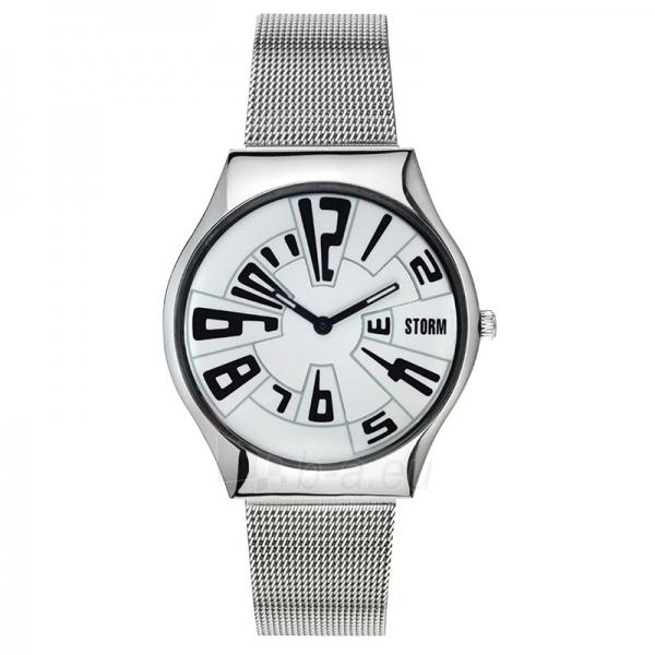 Moteriškas laikrodis Storm Maze White Paveikslėlis 1 iš 1 30069508114