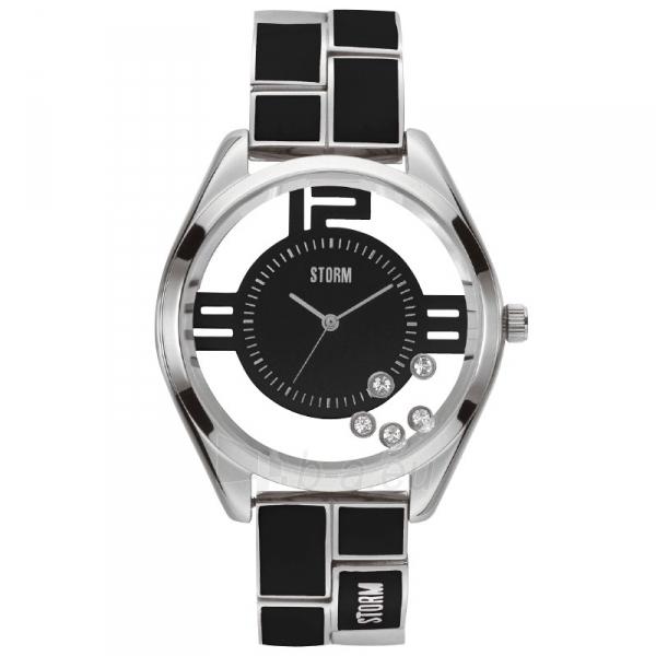 Moteriškas laikrodis STORM Pizaz Black Paveikslėlis 1 iš 7 30069508554