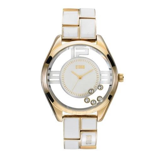 Sieviešu pulkstenis Storm Pizaz Gold White Paveikslėlis 1 iš 1 30069508555