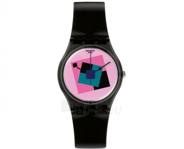 Moteriškas laikrodis Swatch CRAZY SQUARE GA109 Paveikslėlis 1 iš 1 30069508802
