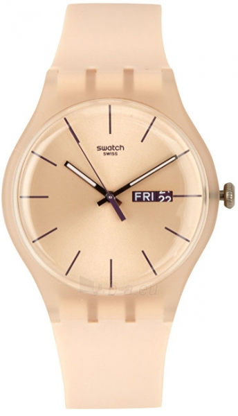 Moteriškas laikrodis Swatch Rose Rebel SUOT700 Paveikslėlis 1 iš 7 310820116338