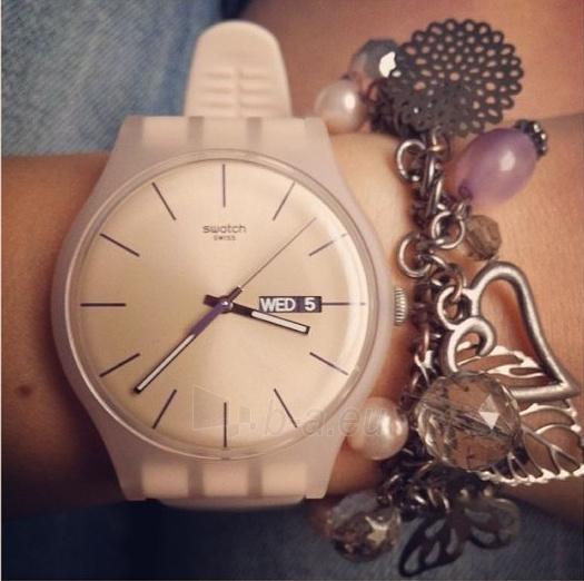 Moteriškas laikrodis Swatch Rose Rebel SUOT700 Paveikslėlis 4 iš 7 310820116338