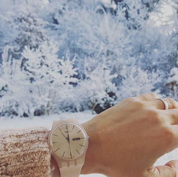 Moteriškas laikrodis Swatch Rose Rebel SUOT700 Paveikslėlis 5 iš 7 310820116338