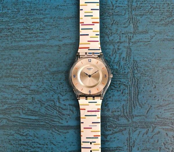 Moteriškas laikrodis Swatch Thin Liner SFE108 Paveikslėlis 6 iš 6 310820116508