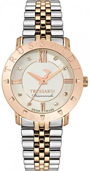 Moteriškas laikrodis Trussardi Swiss Made Sinfonia s diamanty R2453108507 Paveikslėlis 1 iš 3 310820160880