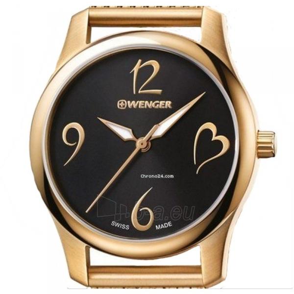 Moteriškas laikrodis WENGER CITY VERY LADY 01.1421.110 Paveikslėlis 4 iš 5 310820140085