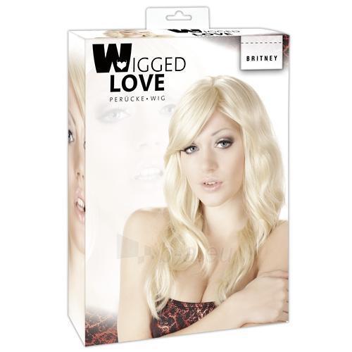 Moteriškas perukas Britney Paveikslėlis 1 iš 2 310820006762