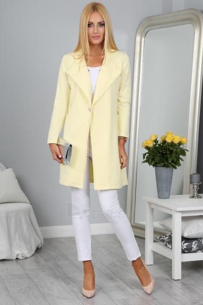 Moteriškas švarkas (citrinos spalvos) Paveikslėlis 1 iš 4 310820035569