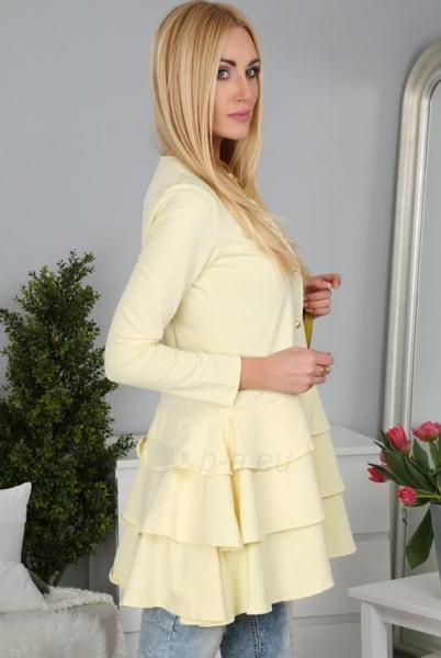 Moteriškas švarkelis Rapumo (citrinos spalvos) Paveikslėlis 1 iš 4 310820035311