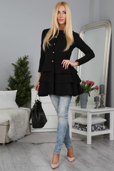 Moteriškas švarkelis Rapumo (juodos spalvos) Paveikslėlis 1 iš 3 310820035313