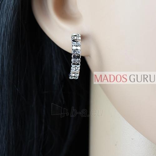 Moteriški auskarai A1017 Paveikslėlis 2 iš 2 30070002581