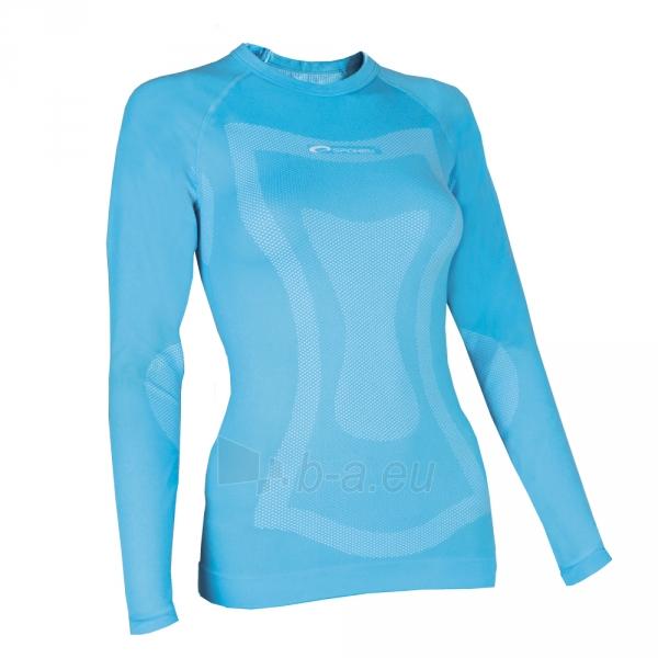 Moteriški termo marškinėliai Spokey DUNE WOMAN BLUE Paveikslėlis 1 iš 2 310820011888