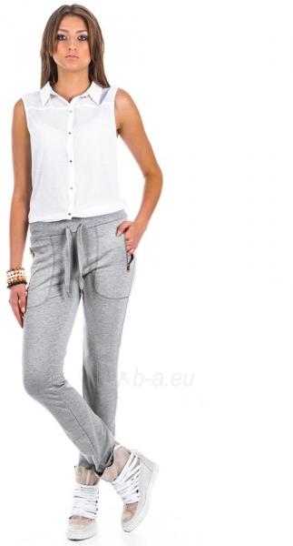 Moteriškos kelnės Aba (pilkos spalvos) Paveikslėlis 1 iš 2 310820032888