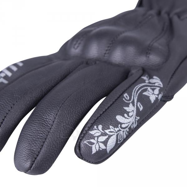 Moteriškos odinės moto pirštinės W-TEC Chermna GID-16028 Paveikslėlis 4 iš 7 310820218055