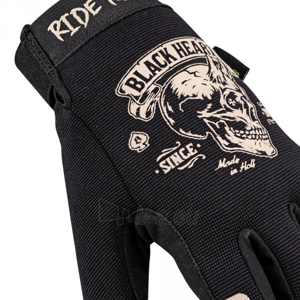 Moto pirštinės W-TEC Black Heart Rioter Paveikslėlis 4 iš 5 310820218064