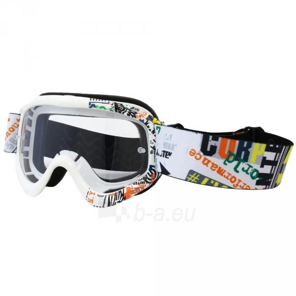 Motociklininko akiniai W-TEC junior Benford, su grafika Paveikslėlis 1 iš 3 30100600017
