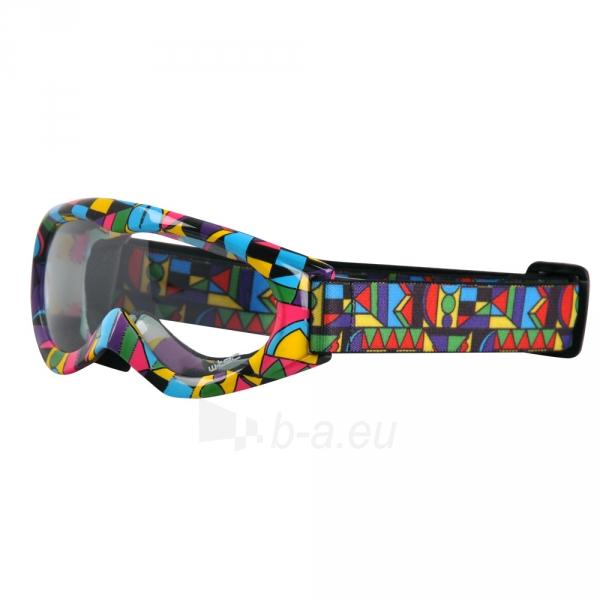 Motociklininko akiniai W-TEC Spooner su grafika Paveikslėlis 1 iš 1 30100600015