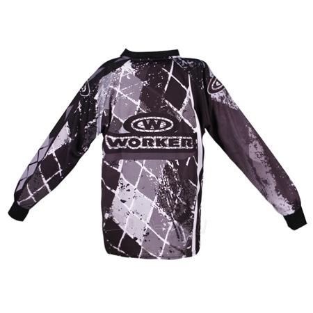 Motociklininko džemperis WORKER T-junior Paveikslėlis 3 iš 5 301251000001