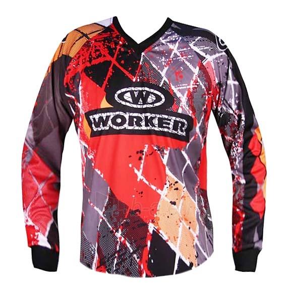 Motociklininko džemperis WORKER T-junior Paveikslėlis 4 iš 5 301251000001