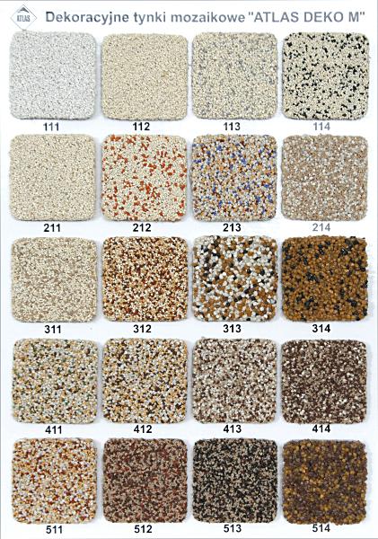 Decorative mosaic render DEKO M 312, 25kg Paveikslėlis 2 iš 4 236760100336
