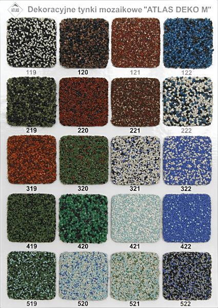 Decorative mosaic render DEKO M 312, 25kg Paveikslėlis 4 iš 4 236760100336