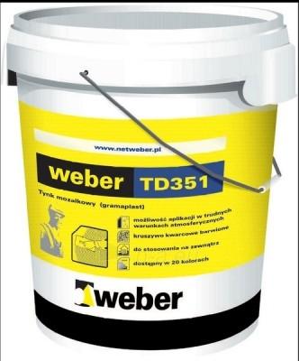 Mosaic plaster Weber Gramaplast TD351 1,8mm 30kg Paveikslėlis 1 iš 1 236760100138
