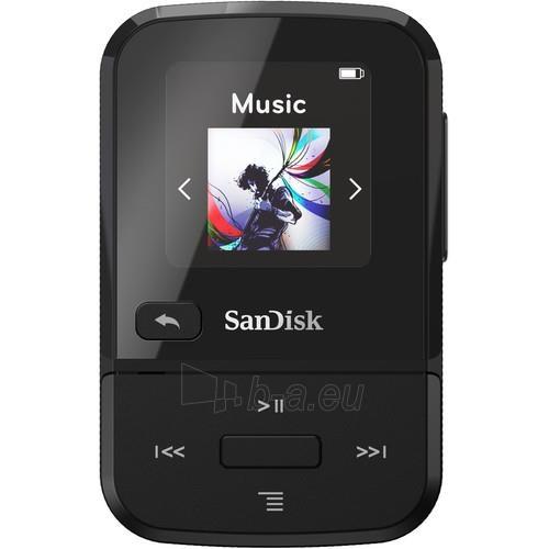 Mp3 player Sandisk CLIP SPORT GO MP3 Player 32GB, Black Paveikslėlis 1 iš 2 310820172968