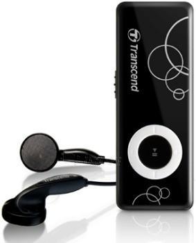 MP3 grotuvas Transcend 8GB Juodas Paveikslėlis 1 iš 1 250218000321