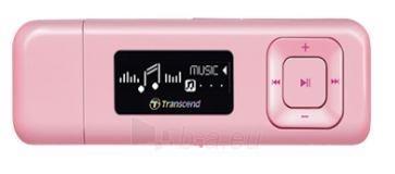 MP3 grotuvas Transcend MP330 8GB Rožinis, FM radijas, 1 OLED ekranas Paveikslėlis 1 iš 2 250218000415