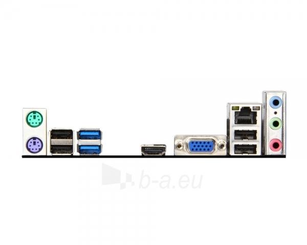 MSI H81M-E33, H81, DualDDR3-1600, SATA3, HDMI, mATX Paveikslėlis 2 iš 2 250255051683