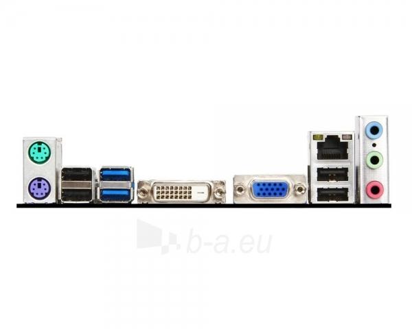 MSI H81M-P33, H81, DualDDR3-1600, SATA3, DVI, mATX Paveikslėlis 2 iš 2 250255051686