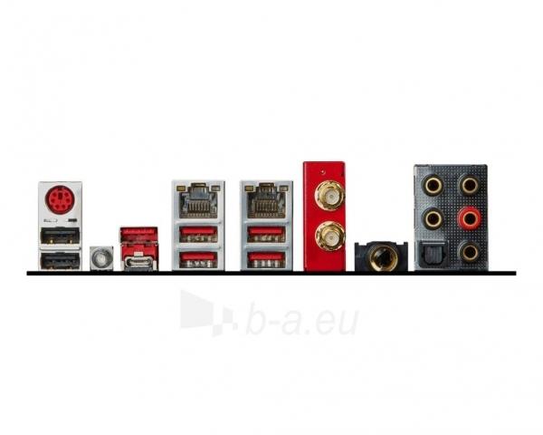 MSI X99A GODLIKE GAMING, X99, QuadDDR4-2133, SATA3, SATA Express, USB 3.1, ATX Paveikslėlis 2 iš 2 250255051807