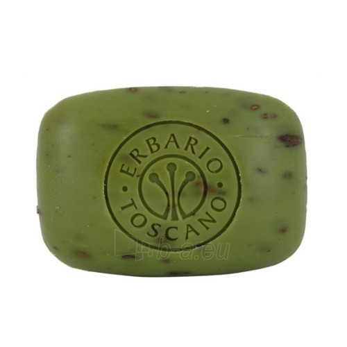 Muilas Erbario Toscano Exfoliating soap with olive oil Olives (Vegetable Soap) 140 g Paveikslėlis 1 iš 1 310820107956