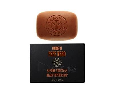 Muilas Erbario Toscano Natural Solid Soap for Men (Black Pepper Soap) 140 g Paveikslėlis 1 iš 1 310820107849
