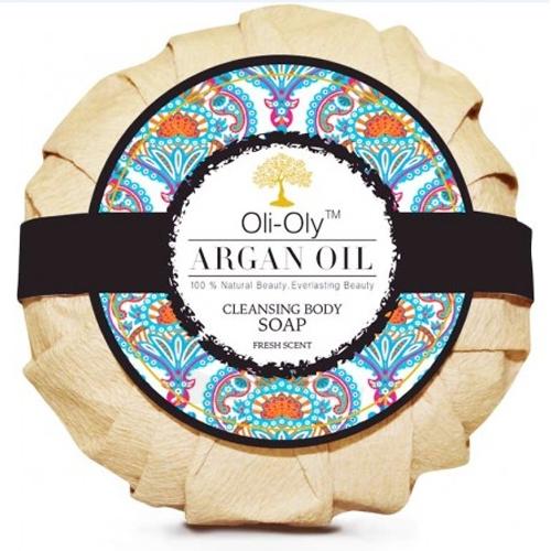 Muilas Oli-Oly Luxury soap on the body with argan oil 99 g Paveikslėlis 1 iš 1 310820107562