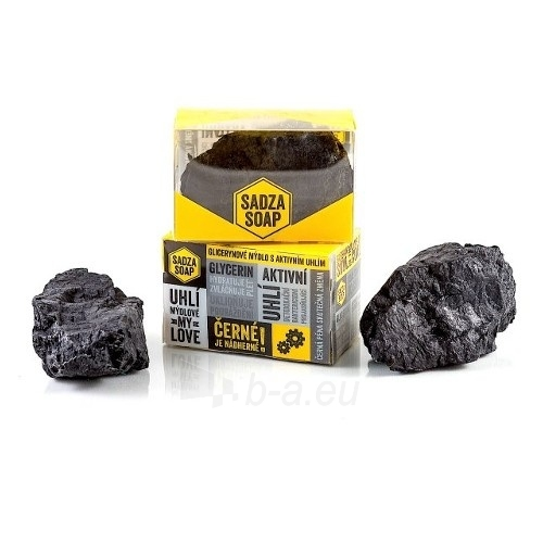 Muilas Sadza Soap Solid soap with activated carbon (Soap) 135 g Paveikslėlis 1 iš 1 310820143574