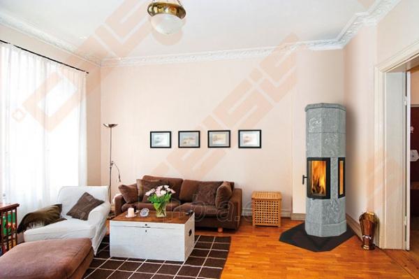 Muilo akmens krosnis NORSK KLEBER OCTO PLUS 6 sekcijų, be šoninių stiklų Paveikslėlis 2 iš 2 310820072461