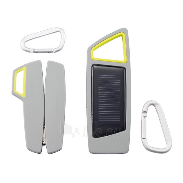 Multifunkcinis įrankis Tovo + Saulės baterijos kraunamas žibintuvėlis, pilkos sp. Paveikslėlis 2 iš 5 251550100436