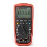 Multimetras skaitmeninis, įtampa DC 200mV-600V, AC 2V-600V, srovė DC/ AC 200uA-10A, varža 600-60 megaomai, diodų testavimas, tranzisorių, nuolatinės grandinės, talpos matavimas CATIII, UT139C UNI-T Paveikslėlis 1 iš 1 310820055968
