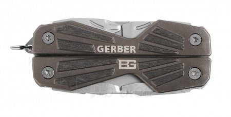 Multirinkinys Gerber Bear Grylls Compact Multi-tool Paveikslėlis 1 iš 4 310820039058