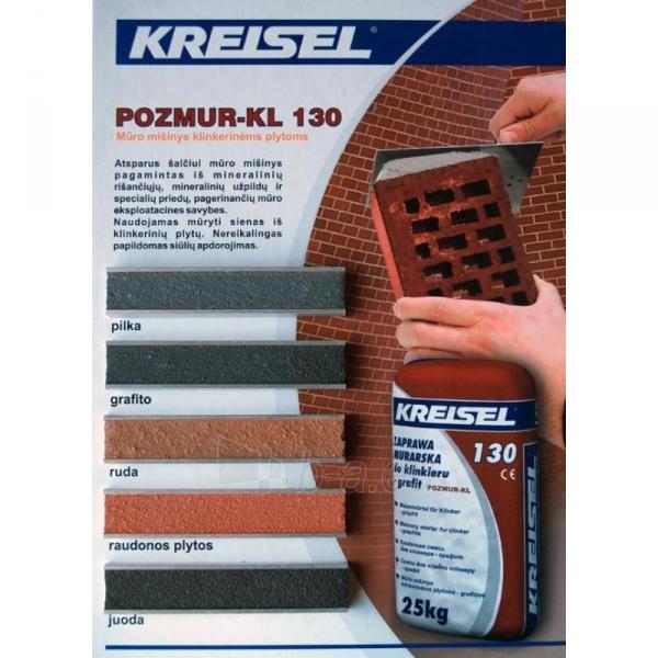 Masonry mortar klinkerinėms plytoms PILKAS 25kg KREISEL Pozmur-KL Paveikslėlis 1 iš 1 236750000111