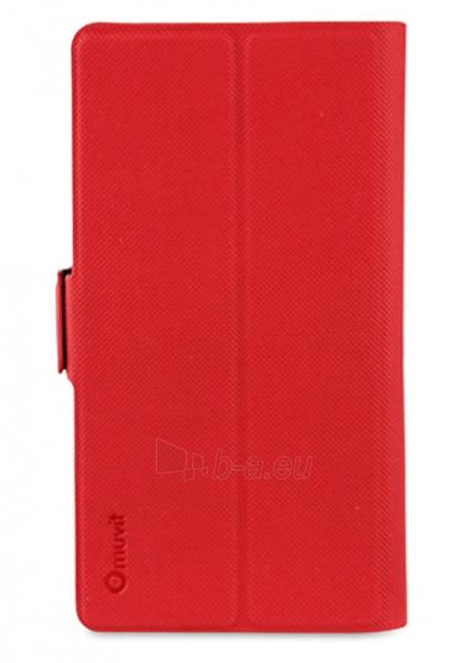 """MUVIT Universal Case Muvit 5"""" (RED) Paveikslėlis 1 iš 3 250232003019"""