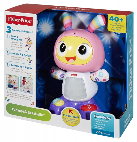 Muzikinis žaislas Fisher Price DYP08 Paveikslėlis 2 iš 6 310820217998