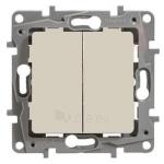 Mygtukas įleidžiamas, 6AX - 250Vmontavimas varžtais, kreminis, Legrand Niloe 664607 Paveikslėlis 1 iš 1 223832000205