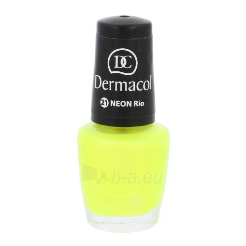 Nagų lakas Dermacol Neon Polish Cosmetic 5ml Nr. 21 Rio Paveikslėlis 1 iš 1 310820011470