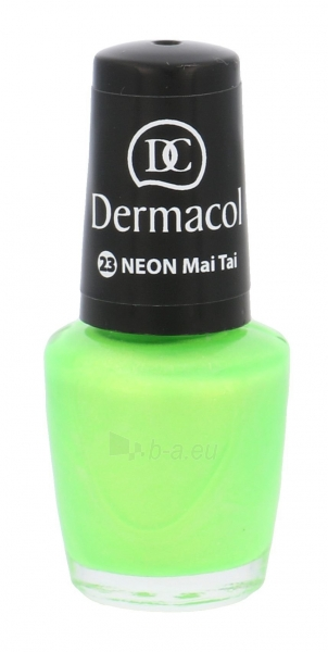 Nagų lakas Dermacol Neon Polish Cosmetic 5ml Nr. 23 Mai Tai Paveikslėlis 1 iš 1 310820011464